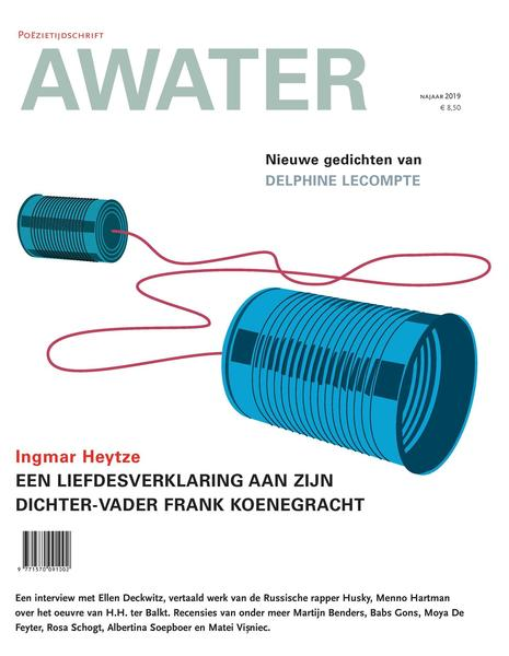 Awater Live! op 18/10 bij Index Poetry Books